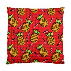 Fruit Pineapple Red Yellow Green Standard Cushion Case (two Sides)