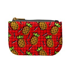 Fruit Pineapple Red Yellow Green Mini Coin Purses