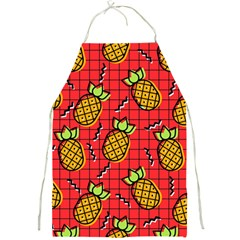 Fruit Pineapple Red Yellow Green Full Print Aprons