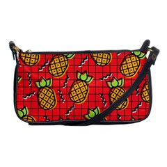 Fruit Pineapple Red Yellow Green Shoulder Clutch Bags