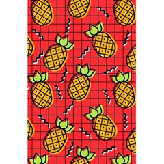 Fruit Pineapple Red Yellow Green 5 5  X 8 5  Notebooks