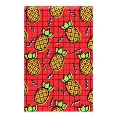 Fruit Pineapple Red Yellow Green Shower Curtain 48  X 72  (small)
