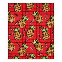 Fruit Pineapple Red Yellow Green Shower Curtain 60  X 72  (medium)