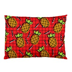 Fruit Pineapple Red Yellow Green Pillow Case (two Sides)