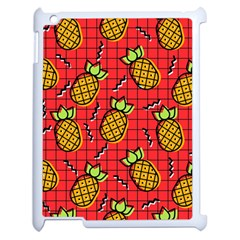 Fruit Pineapple Red Yellow Green Apple Ipad 2 Case (white)