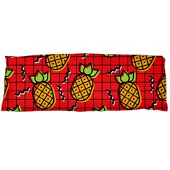Fruit Pineapple Red Yellow Green Body Pillow Case Dakimakura (two Sides)