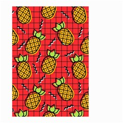 Fruit Pineapple Red Yellow Green Small Garden Flag (two Sides)
