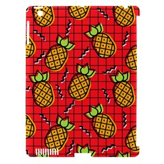 Fruit Pineapple Red Yellow Green Apple Ipad 3/4 Hardshell Case (compatible With Smart Cover)