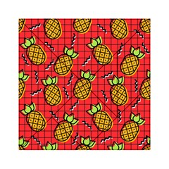 Fruit Pineapple Red Yellow Green Acrylic Tangram Puzzle (6  X 6 )