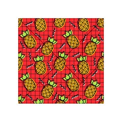 Fruit Pineapple Red Yellow Green Acrylic Tangram Puzzle (4  X 4 )