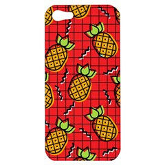 Fruit Pineapple Red Yellow Green Apple Iphone 5 Hardshell Case