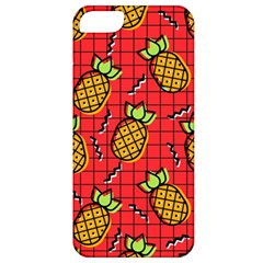 Fruit Pineapple Red Yellow Green Apple Iphone 5 Classic Hardshell Case