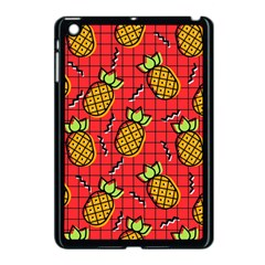 Fruit Pineapple Red Yellow Green Apple Ipad Mini Case (black)