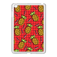 Fruit Pineapple Red Yellow Green Apple Ipad Mini Case (white)