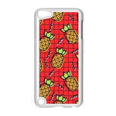 Fruit Pineapple Red Yellow Green Apple Ipod Touch 5 Case (white)