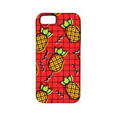Fruit Pineapple Red Yellow Green Apple Iphone 5 Classic Hardshell Case (pc+silicone)