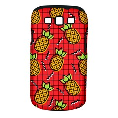 Fruit Pineapple Red Yellow Green Samsung Galaxy S Iii Classic Hardshell Case (pc+silicone)