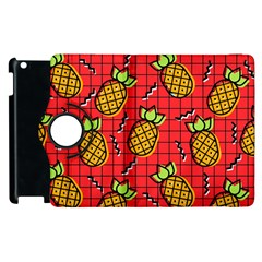 Fruit Pineapple Red Yellow Green Apple Ipad 3/4 Flip 360 Case