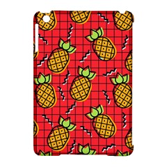 Fruit Pineapple Red Yellow Green Apple Ipad Mini Hardshell Case (compatible With Smart Cover)