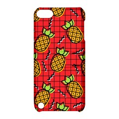Fruit Pineapple Red Yellow Green Apple Ipod Touch 5 Hardshell Case With Stand