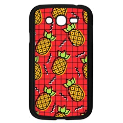 Fruit Pineapple Red Yellow Green Samsung Galaxy Grand Duos I9082 Case (black)