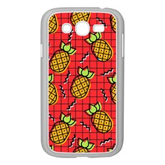 Fruit Pineapple Red Yellow Green Samsung Galaxy Grand Duos I9082 Case (white)