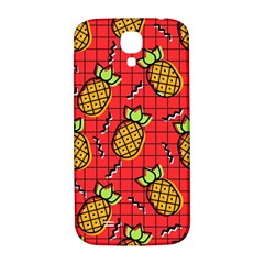 Fruit Pineapple Red Yellow Green Samsung Galaxy S4 I9500/i9505  Hardshell Back Case