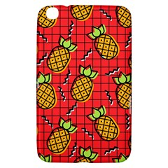 Fruit Pineapple Red Yellow Green Samsung Galaxy Tab 3 (8 ) T3100 Hardshell Case