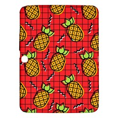 Fruit Pineapple Red Yellow Green Samsung Galaxy Tab 3 (10 1 ) P5200 Hardshell Case