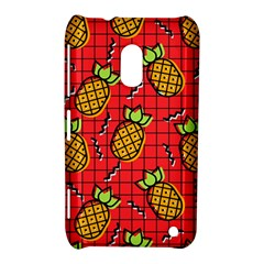 Fruit Pineapple Red Yellow Green Nokia Lumia 620