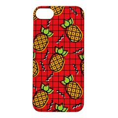 Fruit Pineapple Red Yellow Green Apple Iphone 5s/ Se Hardshell Case