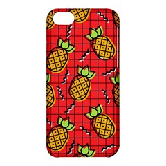 Fruit Pineapple Red Yellow Green Apple Iphone 5c Hardshell Case