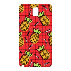 Fruit Pineapple Red Yellow Green Samsung Galaxy Note 3 N9005 Hardshell Back Case