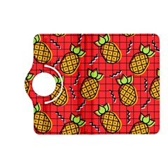 Fruit Pineapple Red Yellow Green Kindle Fire Hd (2013) Flip 360 Case