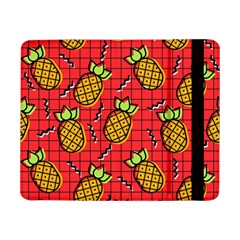 Fruit Pineapple Red Yellow Green Samsung Galaxy Tab Pro 8 4  Flip Case