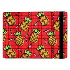Fruit Pineapple Red Yellow Green Samsung Galaxy Tab Pro 12 2  Flip Case