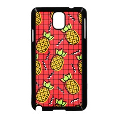 Fruit Pineapple Red Yellow Green Samsung Galaxy Note 3 Neo Hardshell Case (black)