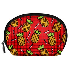 Fruit Pineapple Red Yellow Green Accessory Pouches (large)
