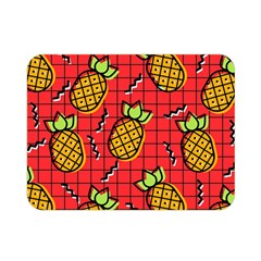 Fruit Pineapple Red Yellow Green Double Sided Flano Blanket (mini)