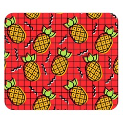 Fruit Pineapple Red Yellow Green Double Sided Flano Blanket (small)