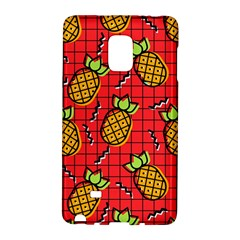 Fruit Pineapple Red Yellow Green Galaxy Note Edge