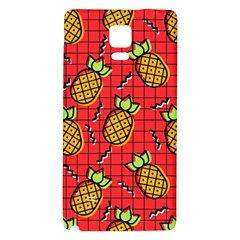 Fruit Pineapple Red Yellow Green Galaxy Note 4 Back Case