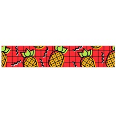 Fruit Pineapple Red Yellow Green Large Flano Scarf