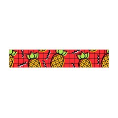 Fruit Pineapple Red Yellow Green Flano Scarf (mini)