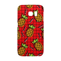 Fruit Pineapple Red Yellow Green Galaxy S6 Edge
