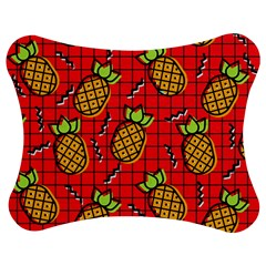 Fruit Pineapple Red Yellow Green Jigsaw Puzzle Photo Stand (bow)
