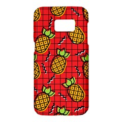 Fruit Pineapple Red Yellow Green Samsung Galaxy S7 Hardshell Case