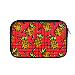 Fruit Pineapple Red Yellow Green Apple Macbook Pro 13  Zipper Case