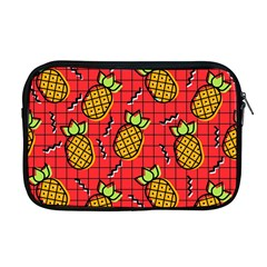 Fruit Pineapple Red Yellow Green Apple Macbook Pro 17  Zipper Case