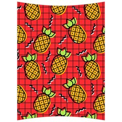 Fruit Pineapple Red Yellow Green Back Support Cushion